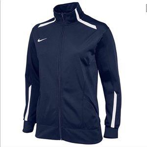 Nike Navy Overtime Track Athletic Jacket